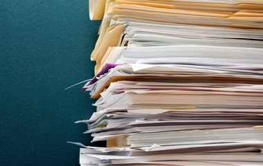 Clinical billing paperwork