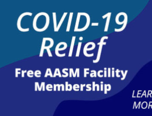 AASM waives facility membership dues, provides COVID-19 relief funding